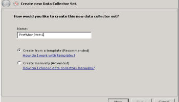 Perfmon: Create a Template From an Existing Data Collector Set   The ...