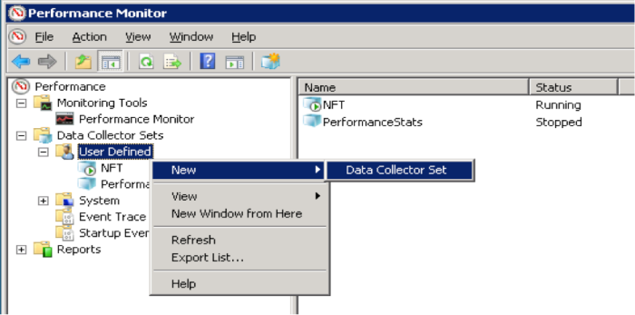 W8-2 New Data Collector Set